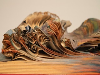 """Hidden Histories"" Altered Book"