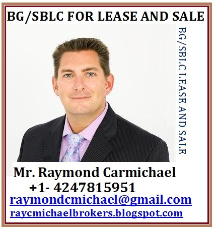 Bg/sblc Available For Lease And Purchase -- Carmichael
