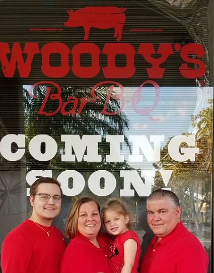 Proud New Owners of Woodys Bar-B-Q of Pembroke Pines - The Padron Family