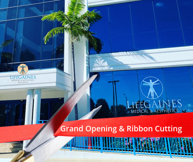 Grand Opening & Ribbon Cutting LifeGaines Boca