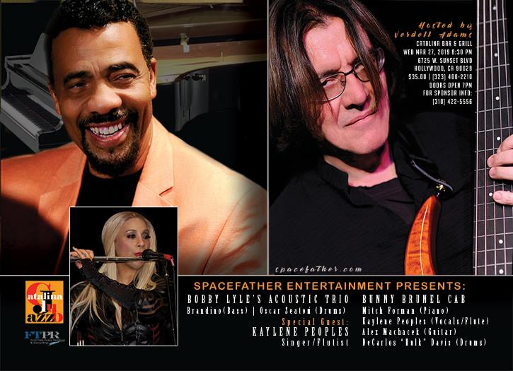 Bobby Lyle, Bunny Brunel CAB, Kaylene Peoples - Catalina Jazz Club
