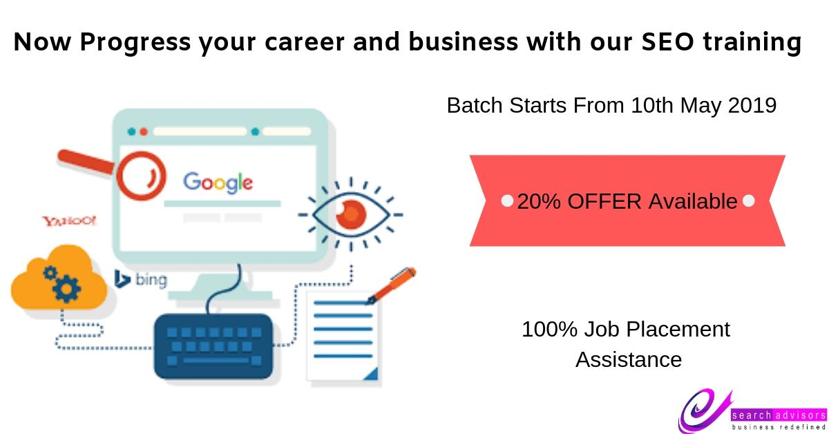 Now Progress your career and business with our SEO