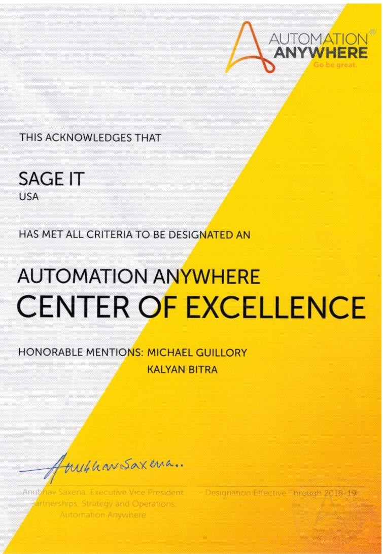 Automation Anywhere COE Certificate_page1_image1