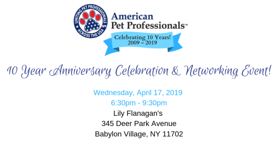 10 Year Anniversary Celebration & Networking Event!