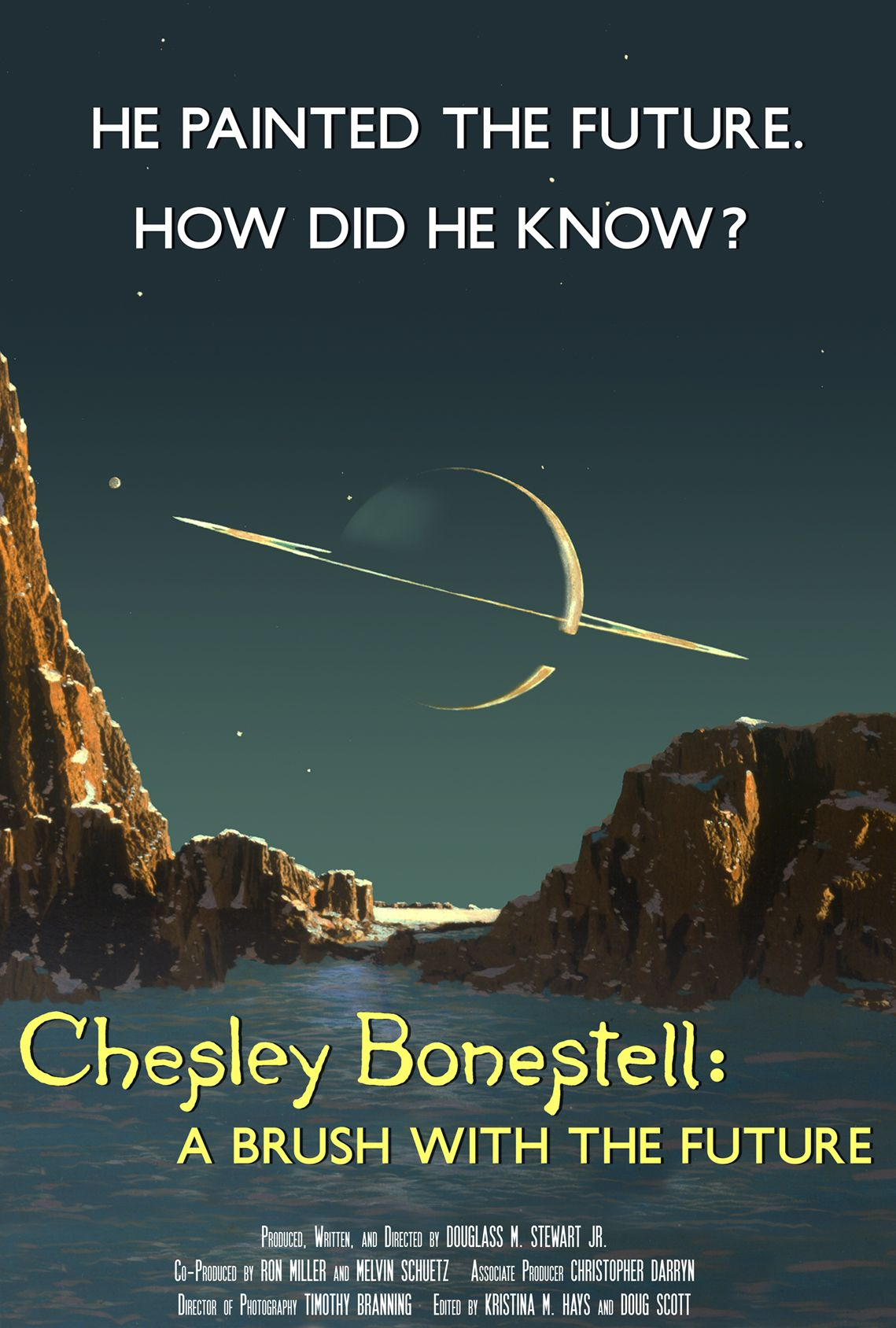 Official Film Poster for Chesley Bonestell: A Brush with the Future