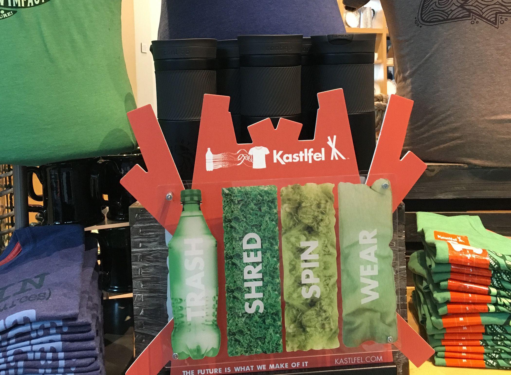 Trash Shred Spin Wear Retail Display