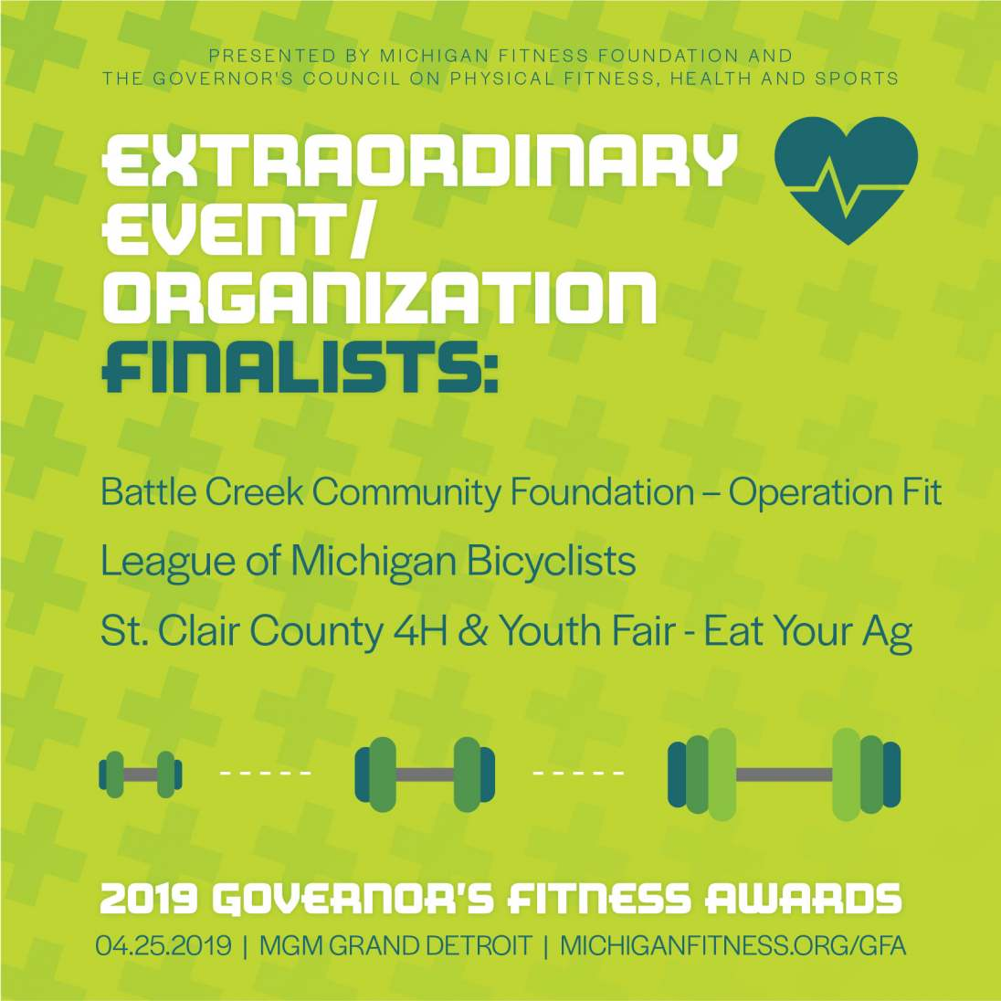 Governor's Fitness Awards - Extraordinary Event/Organization