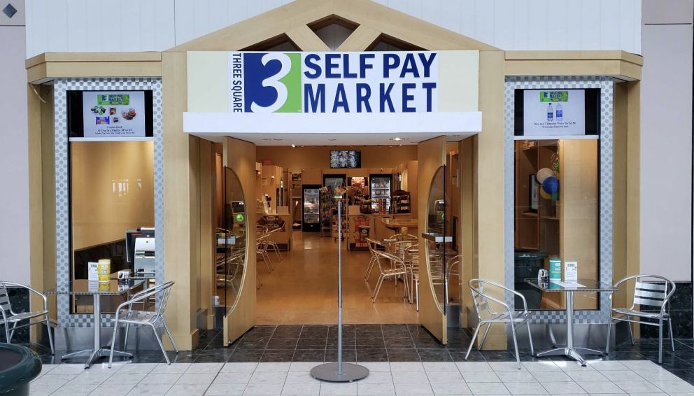 The recently opened Three Square Self Pay Market at the Johnstown Galleria