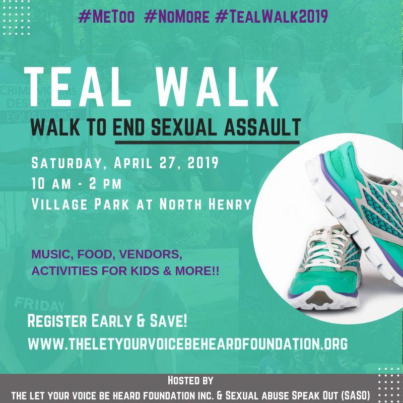Teal Walk 2019