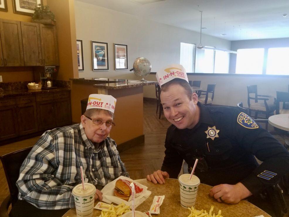 An Ageless Dream Fulfilled: Thanks Officer Travis Warren