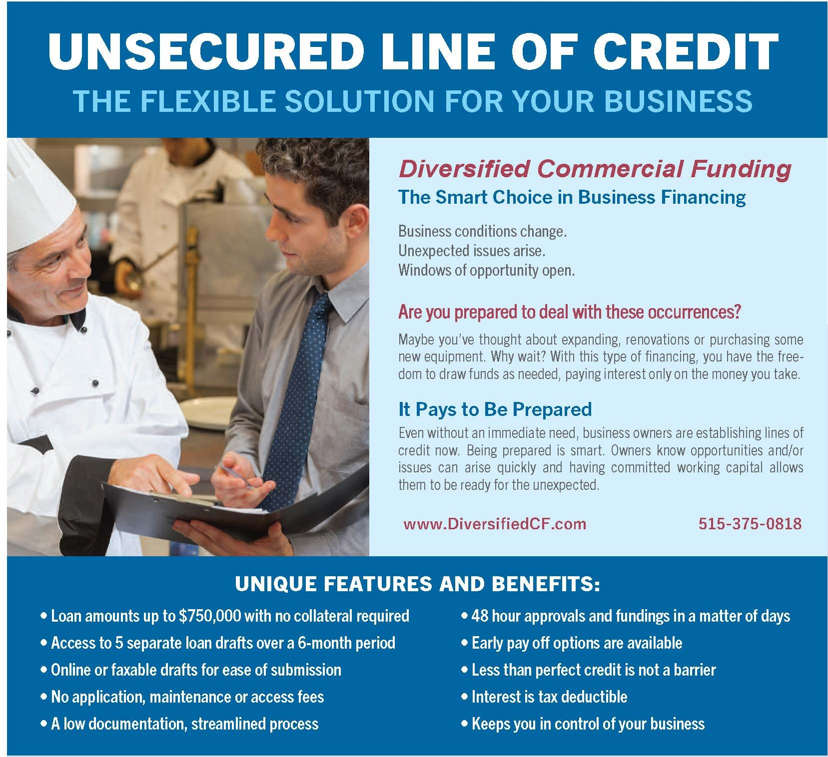 Lines of Credit for Businesses