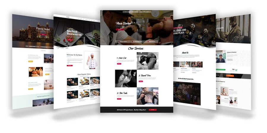 Flaxie Agency Wordpress Theme Preview