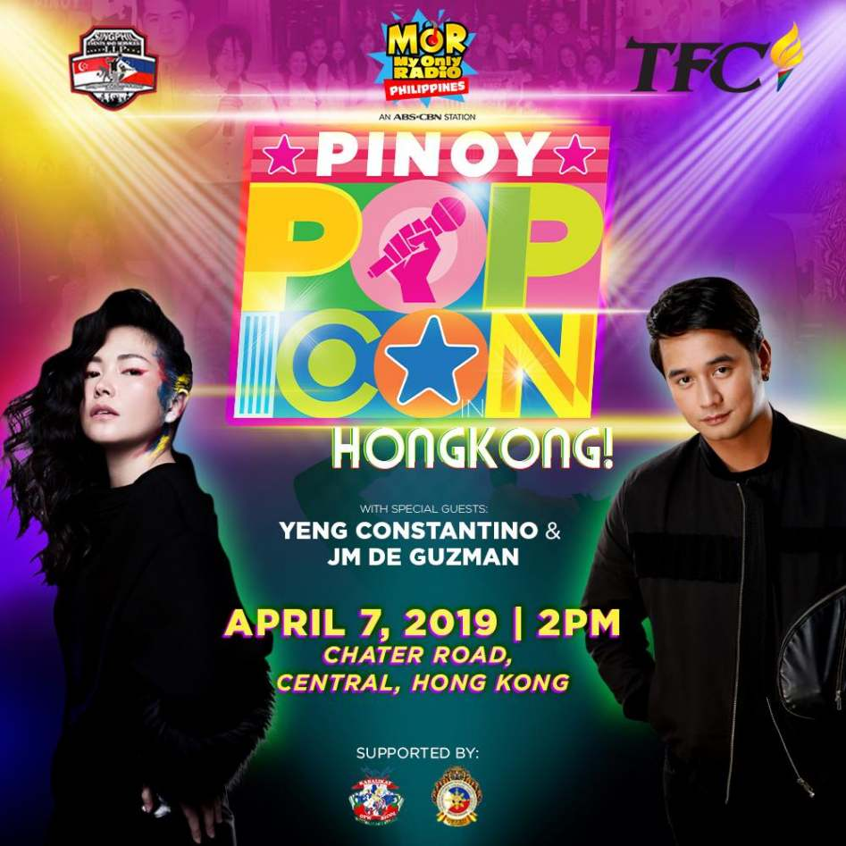 MOR Pinoy Pop Icon Hong Kong