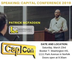 Patrick McFadden CapCon 2019