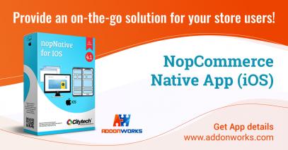 NopCommerce Native App (iOS)