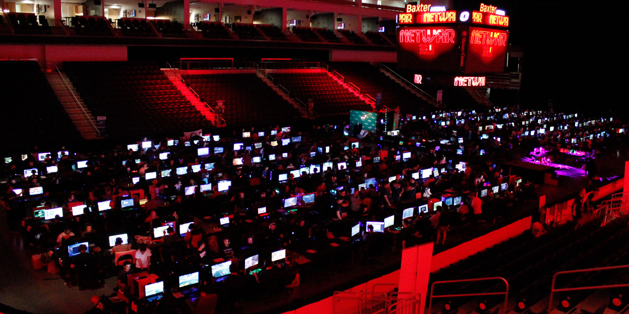 NETWAR 36.0 will accommodate 638 gamers.