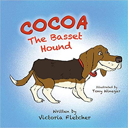 """Cocoa the Basset Hound"""