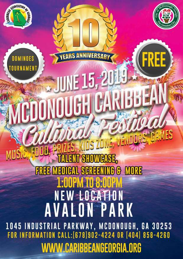 McDonough Caribbean Cultural Festival 2019
