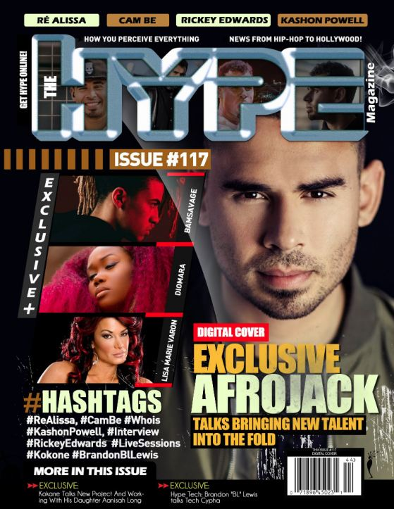 International Superstar Afrojack Covers The Hype Magazine Digital Issue #117
