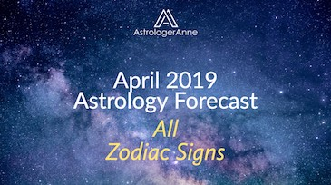 April: time to get back on track. See why in April Monthly Astrology Forecast!