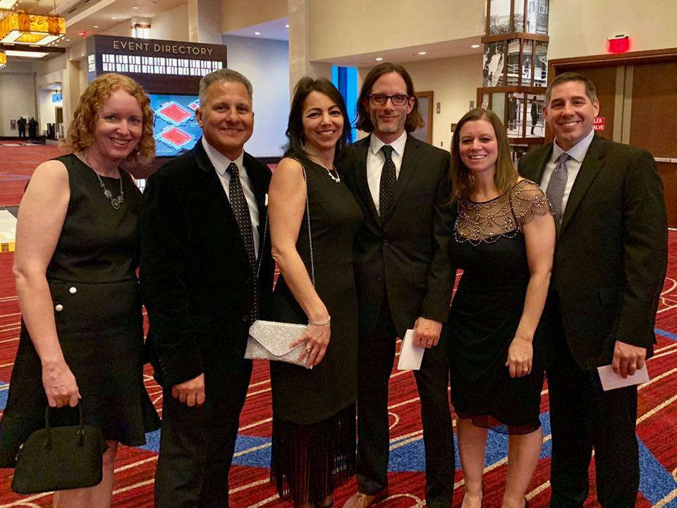 The Design 446 team at the 32nd Annual SAM Awards.