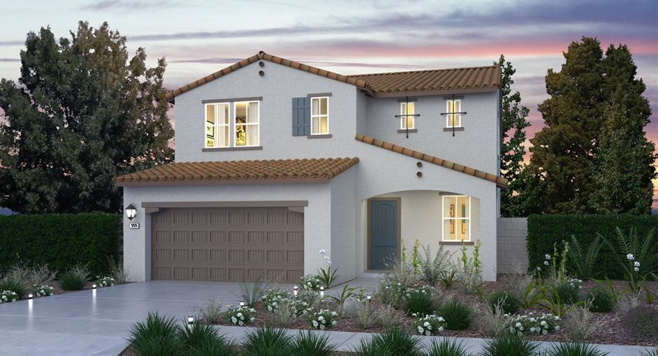 New homes for sale in Santa Paula set within a sustainable masterplan community