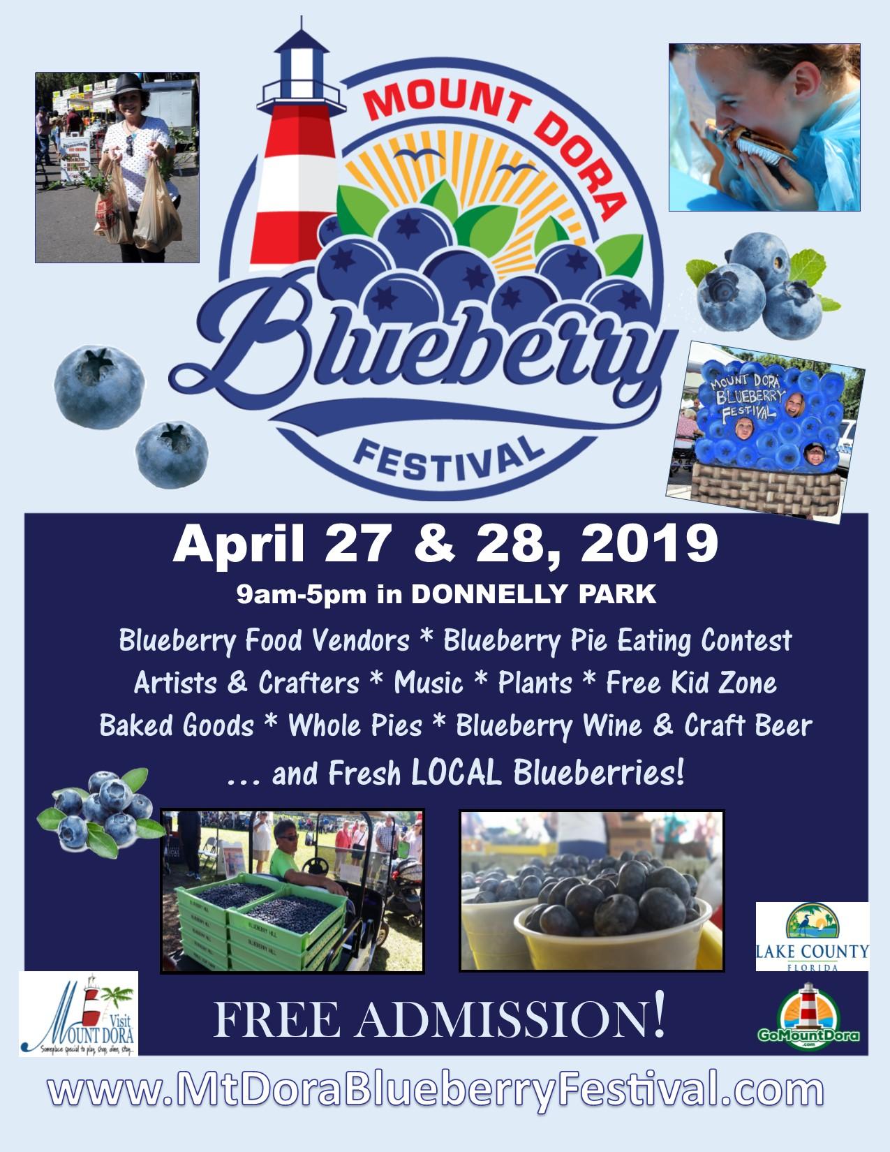 Blueberry Festival Poster 2019