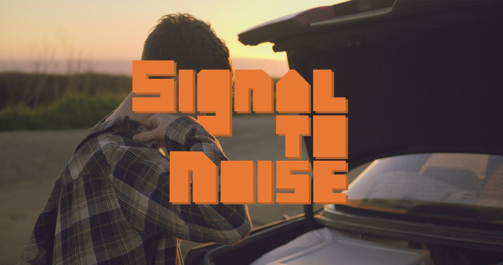 "The ""Signal to Noise"" logo."