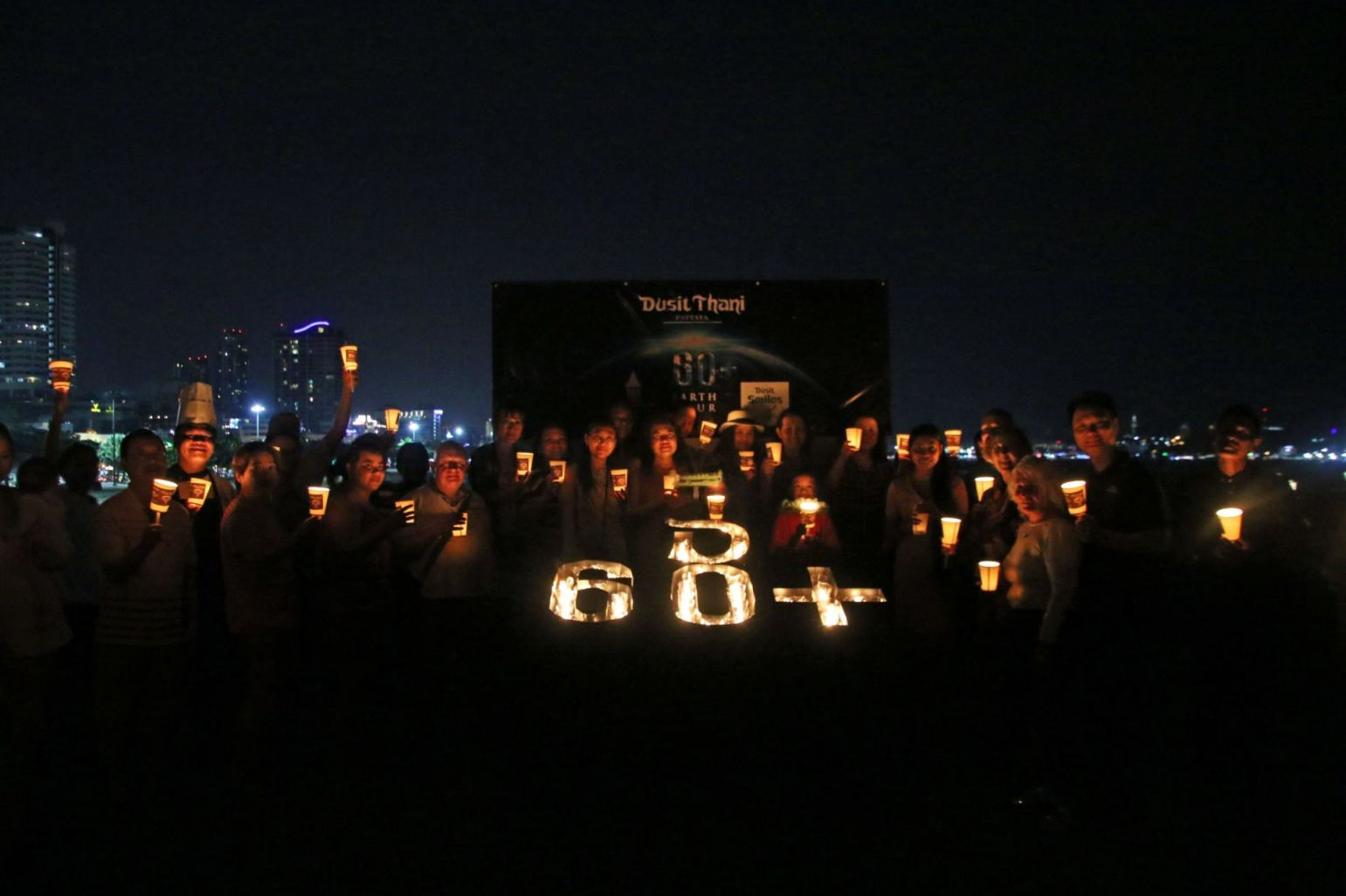 #CONNECT2EARTH, EARTH HOUR 2019 AT DUSIT THANI PAT