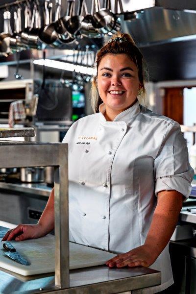La Colombe Head Chef - Jess van Dyk