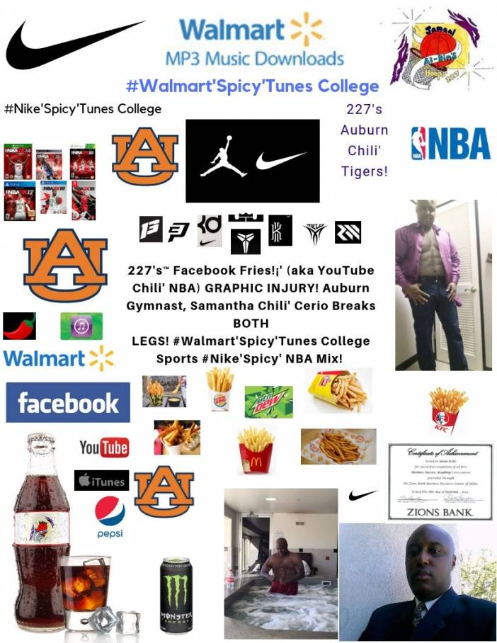 227's™ YouTube Chili' Samantha Chili' Cerio (Auburn) Injury! Spicy' NBA Mix!
