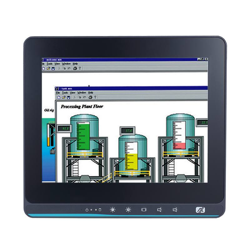 Axiomtek's latest touch panel computer, the GOT110-316-POE-PD.