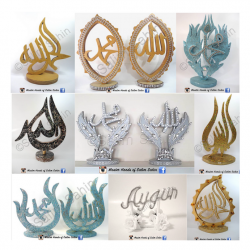A collection of some of the decorative wood artwork, Master Hands of Salim Sahin
