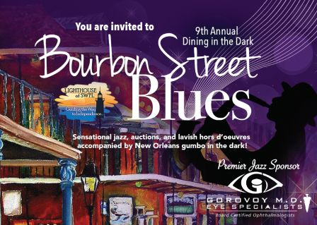 Dining in the Dark: Bourbon Street Blues-Get tkts at www.dininginthedarkswfl.com
