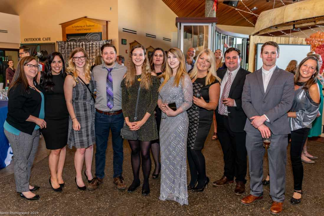 The Beacon marketing team at the Prism Awards, give or take a few friends.