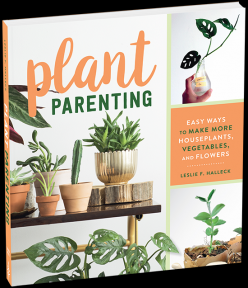 New book: Plant Parenting, Leslie F. Halleck