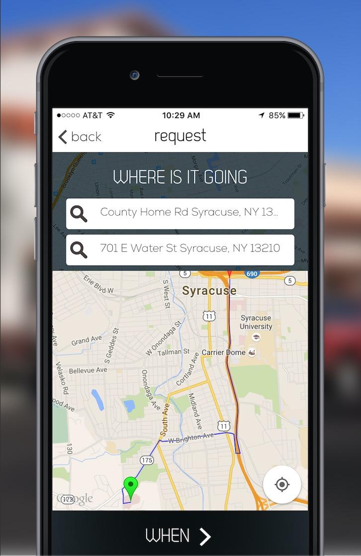 National truck-sharing app., Truxx