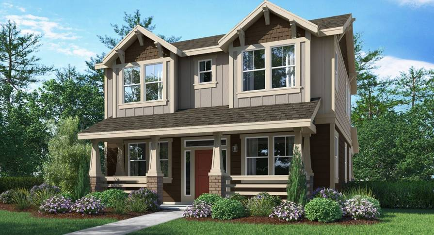 New homes for sale in south Hillsboro set within the Reed's Crossing masterplan