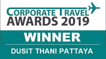 Dusit Thani Pattaya wins Corporate Travel Awards 2