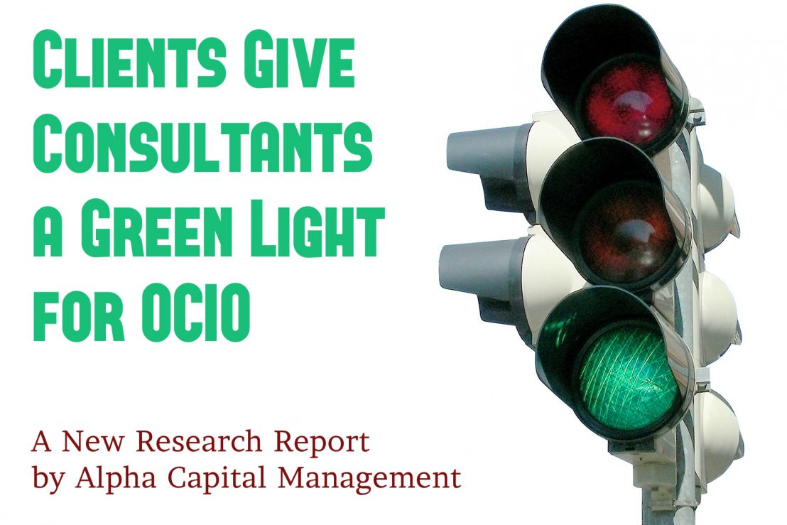 Clients Give Consultants a Green Light for OCIO