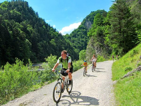 Poland cycle path