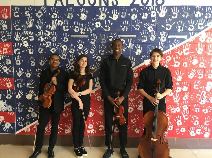 Jordan High School String Quartet