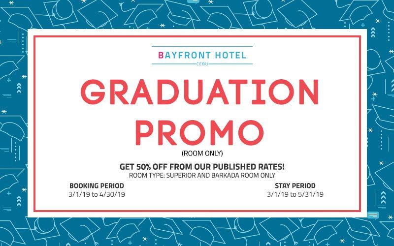Bayfront Cabu Graduation Promo
