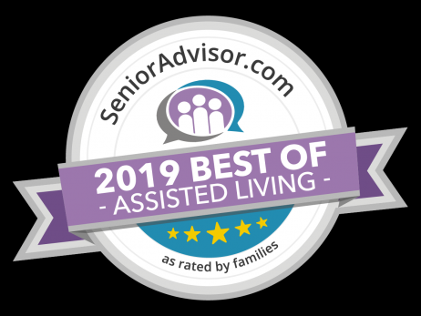 SeniorAdvisor.com 2019 Best of Senior Living Award