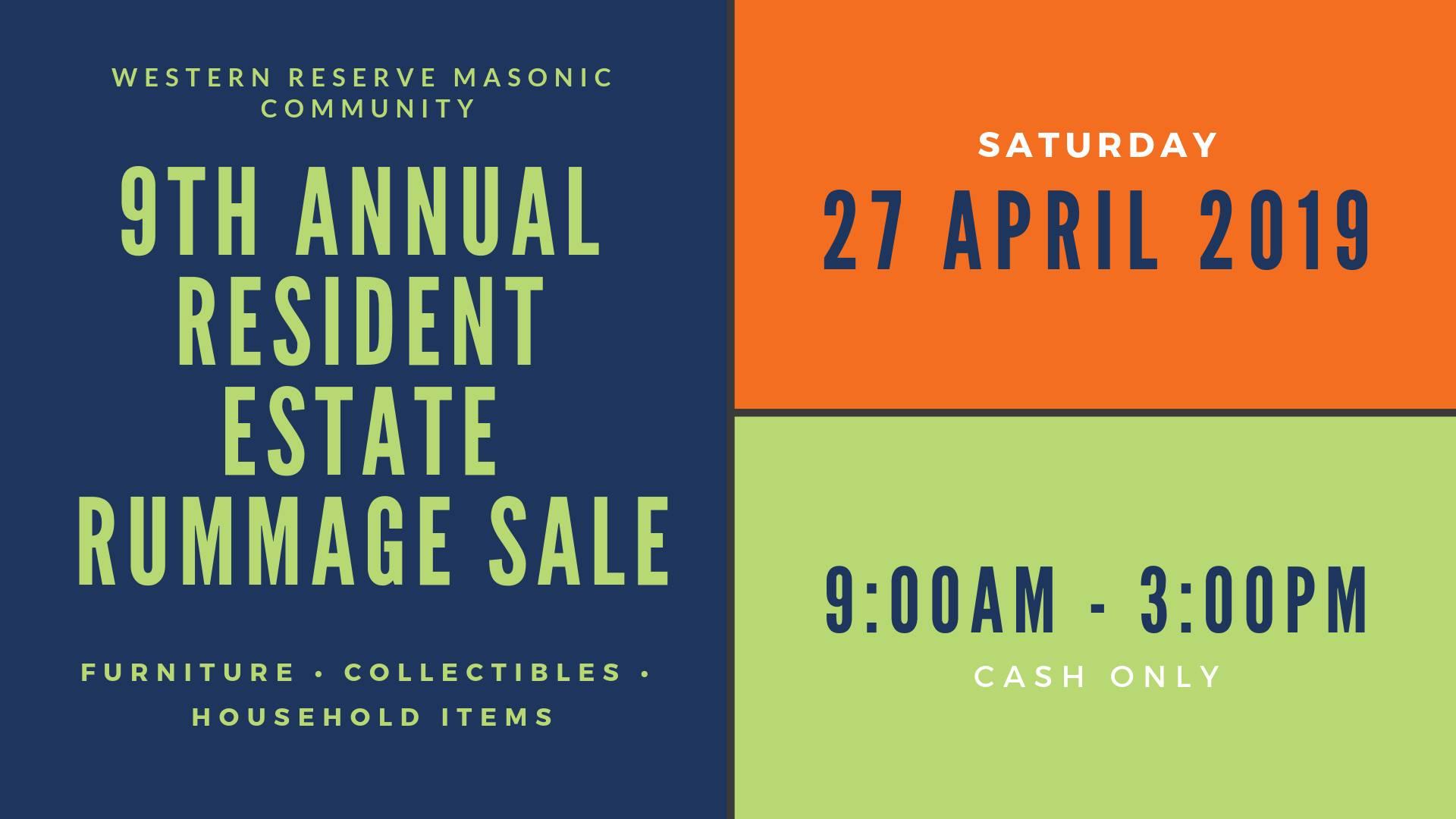 Annual Rummage Sale in Medina on April 27