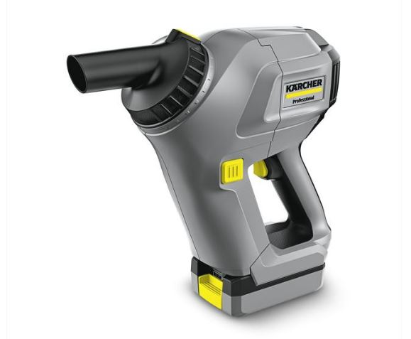 The Karcher HV1/1BP battery powered hand held commercial vacuum cleaner