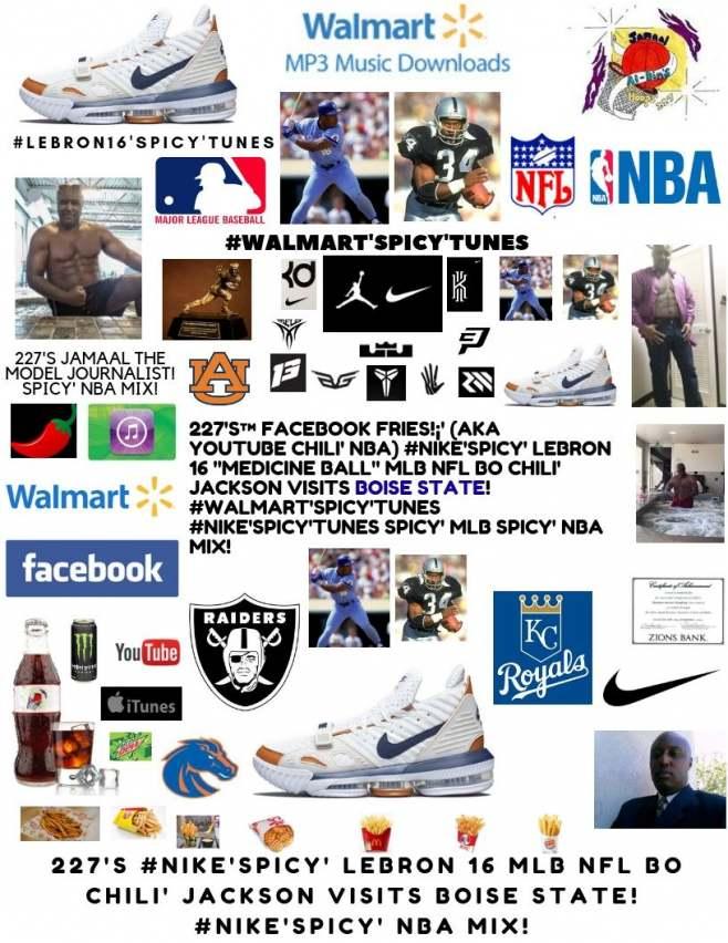 45486cae6439 227 s™ YouTube Chili   Nike Spicy  LEBRON 16 MLB NFL Bo Chili ...