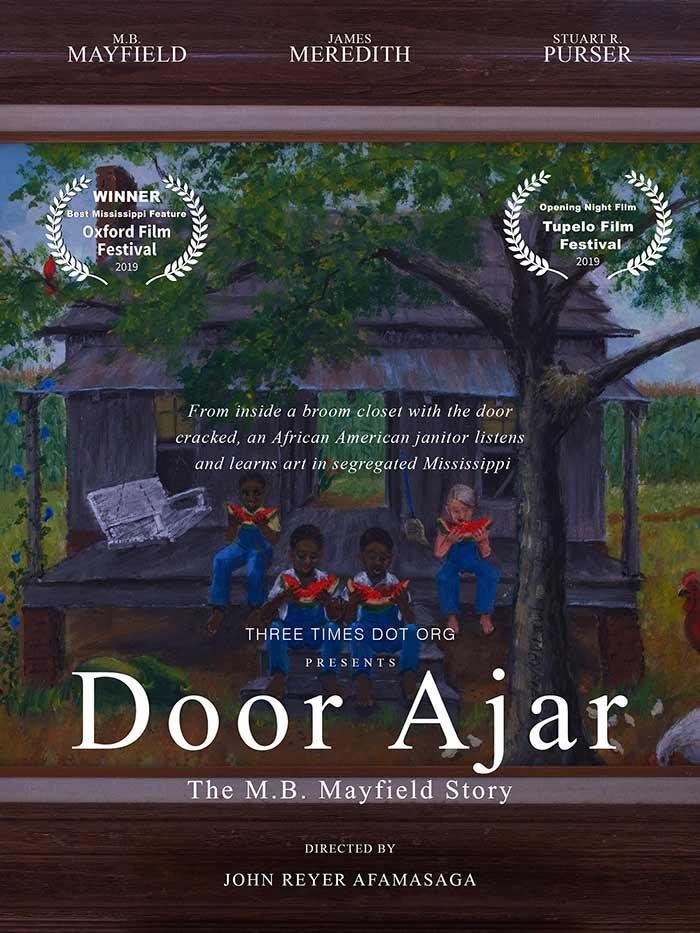 Award-winning Door Ajar - The M.B. Mayfield Story