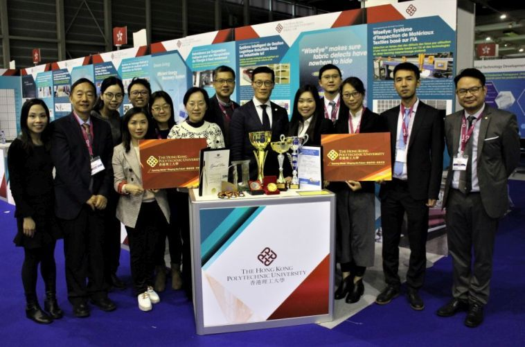 The seven projects of PolyU garner 18 prizes at the Geneva Inventions Expo