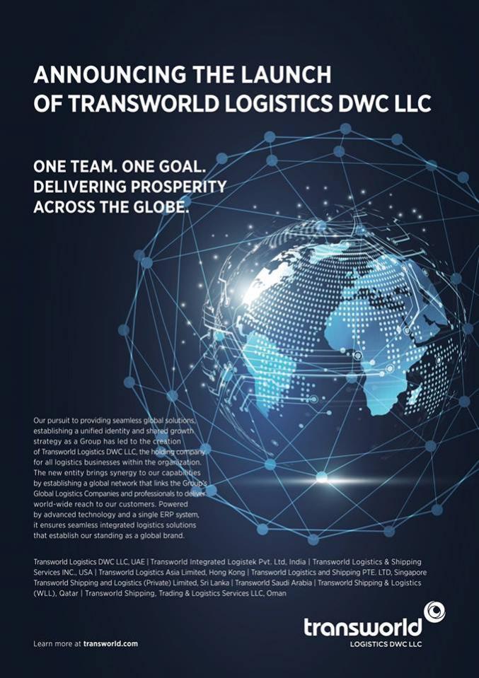 Announcing the launch of Transworld Logistics DWC LLC